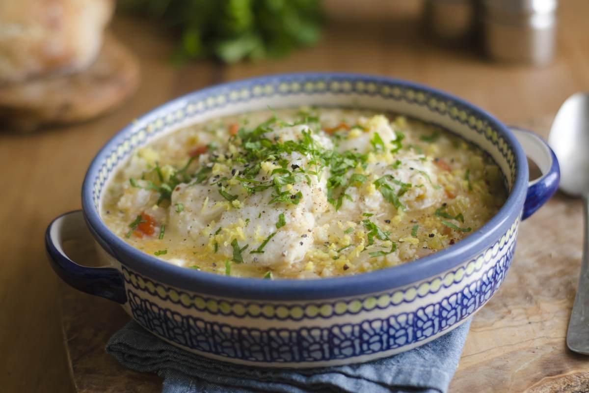 Recette de couscous de poisson avec semoule de couscous Le Renard