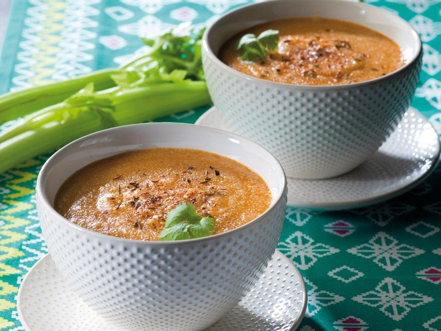 Recette de soupe Hsou