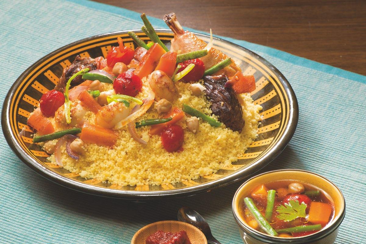 Recette couscous Kabyle - Le Renard