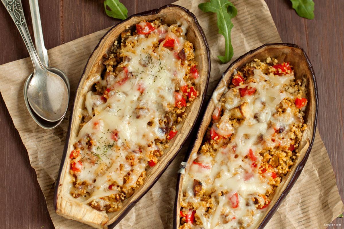 Recette couscous révisité à l'aubergine