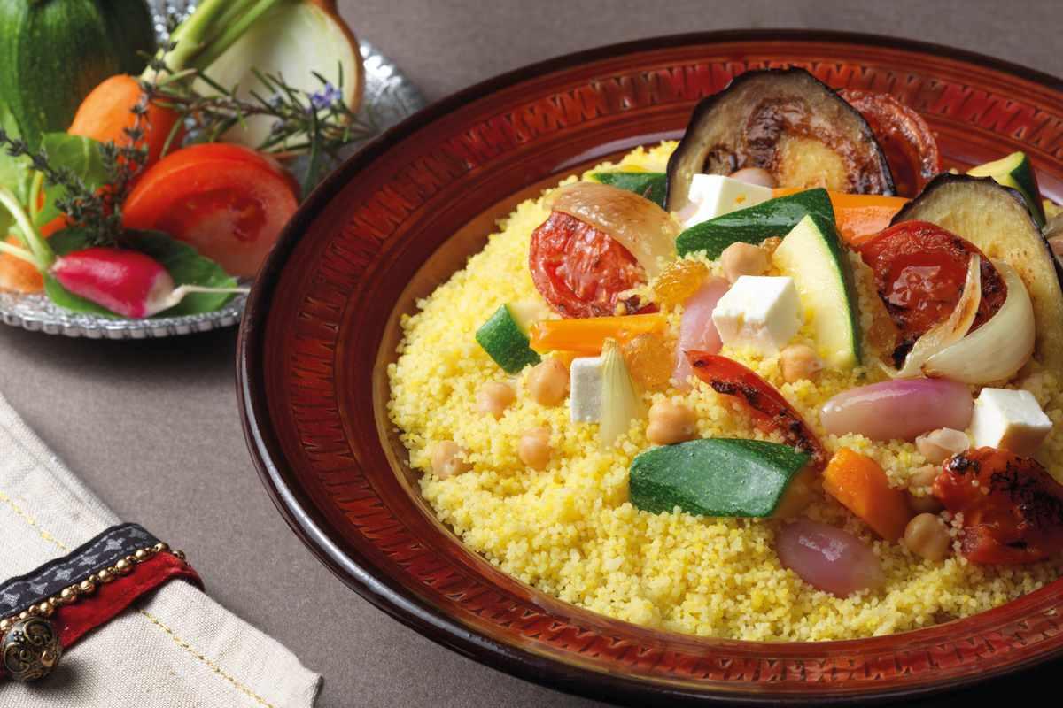 Recette couscous végétarien Le Renard