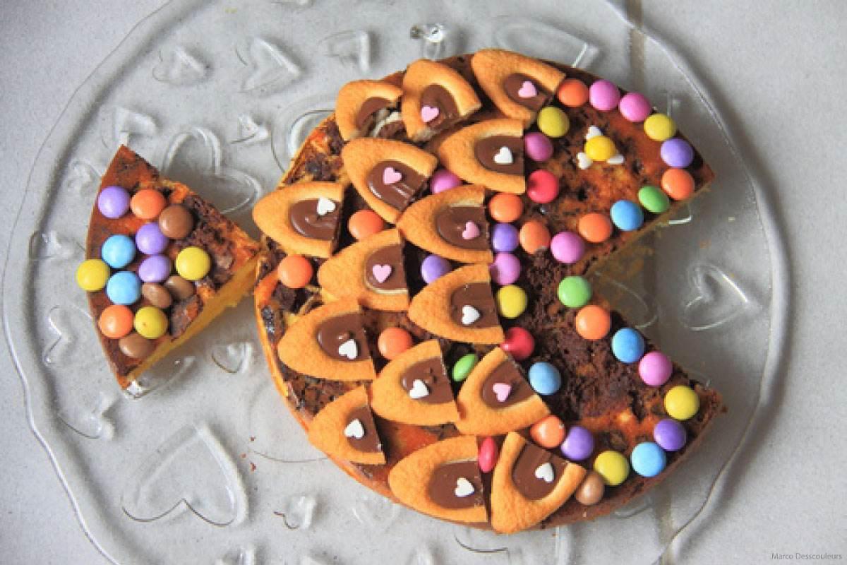 Recette de gateau de semoule Le Renard au chocolat