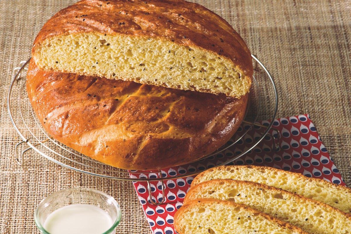 Recette de pain khobz dar à la semoule Le Renard