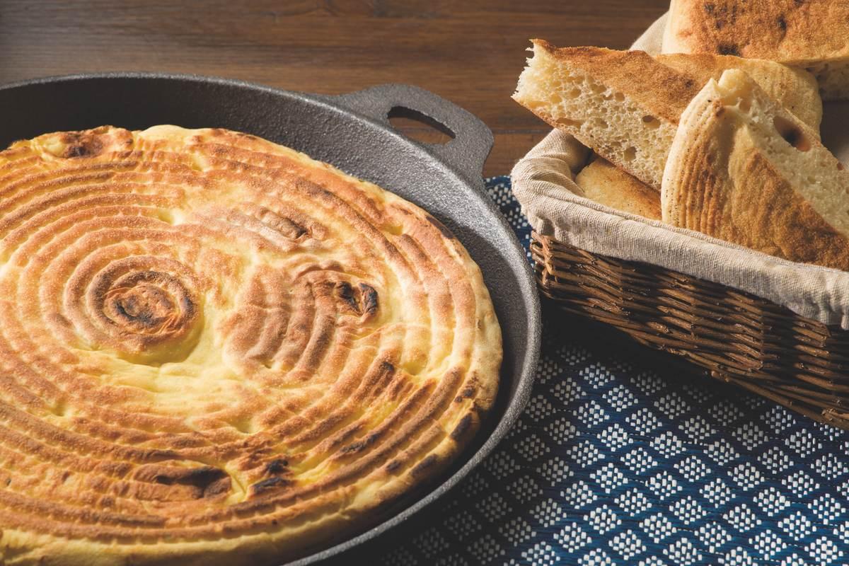 Recette pain Matlouh à la semoule extra fine Le Renard