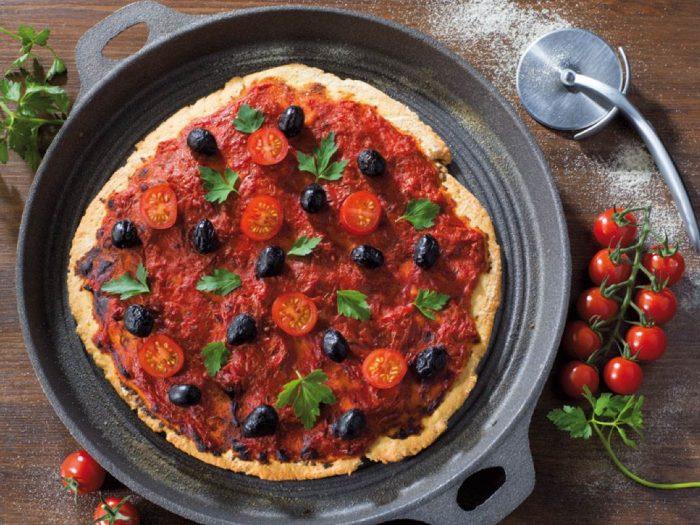 Recette de pizza algérienne avec semoule extra fine Le Renard