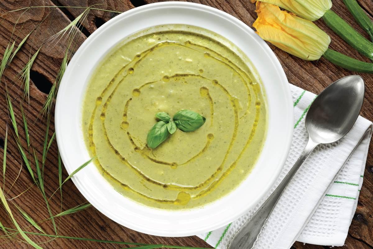 Recette de soupe de courgette à la semoule fine Le Renard