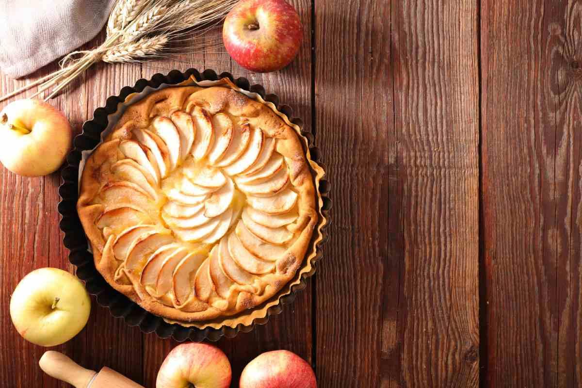 Recette tarte aux pommes à la semoule fine Le Renard