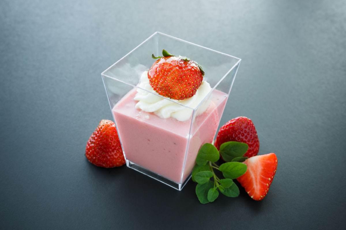 Recette de Semoule aux fraises Tagada - Le Renard