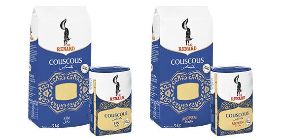 Pack de couscous Le Renard