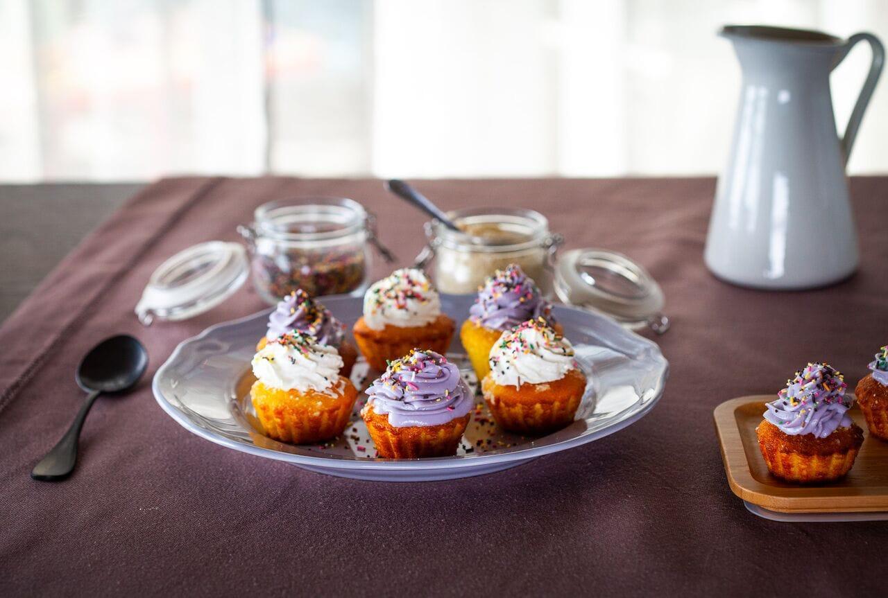 Recette de cupcake à la semoule extra fine Le Renard