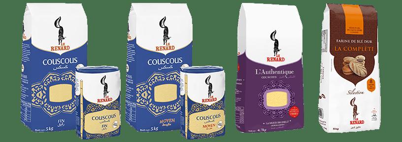 Les couscous et farine Le Renard